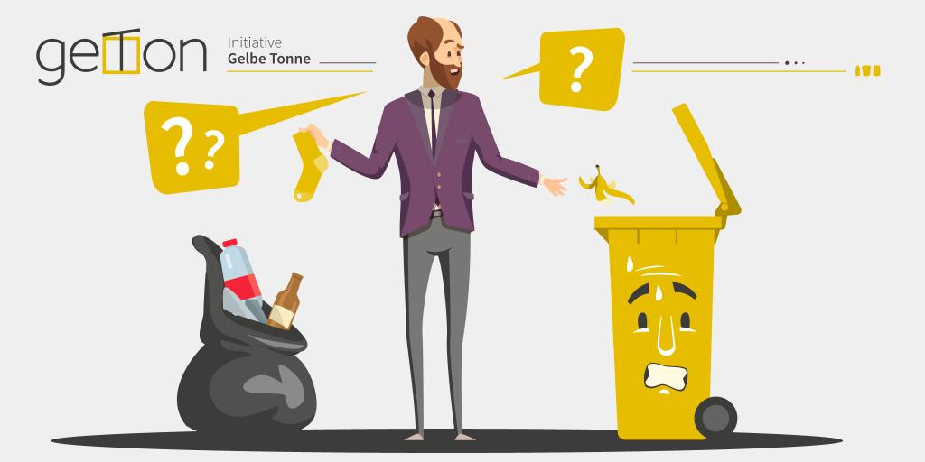 geTon: Kunststoffverpackungen sind eine gewaltige Rohstoffquelle