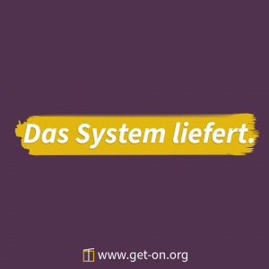 Das System liefert 1