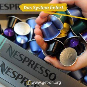 Kaffeekapseln sind recycelbar